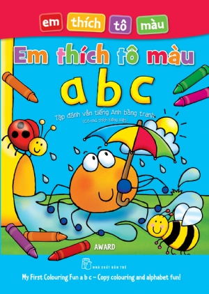 My First Colouring Fun abc – Copy colouring and alphabet fun
